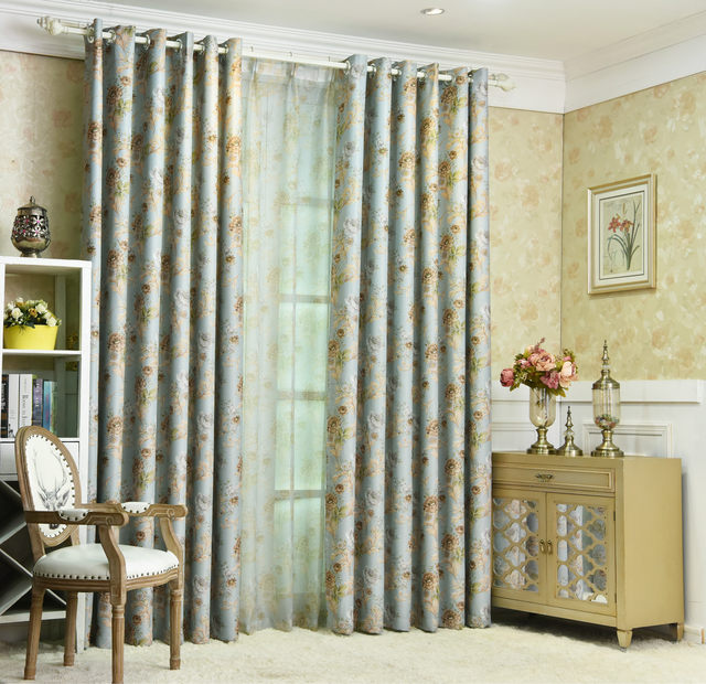 Tende Sala. New American Blackout Curtains For Living Room Bedroom ...