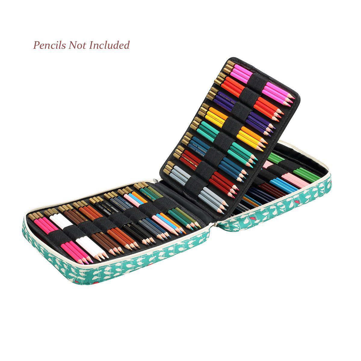 hot-150 Slots Colored Pencils Universal Pencil Bag Pen Case School Stationery PencilCase Drawing Painting Storage Pouch Pencilhot-150 Slots Colored Pencils Universal Pencil Bag Pen Case School Stationery PencilCase Drawing Painting Storage Pouch Pencil