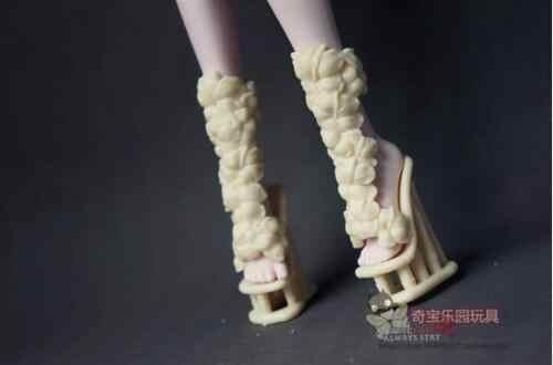 אופנה מגמת ילדי ילדי תינוק צעצועי בנות מתנה מקורי עבור מפלצת תיכון רוח מוזר תיכון פיות נעליים
