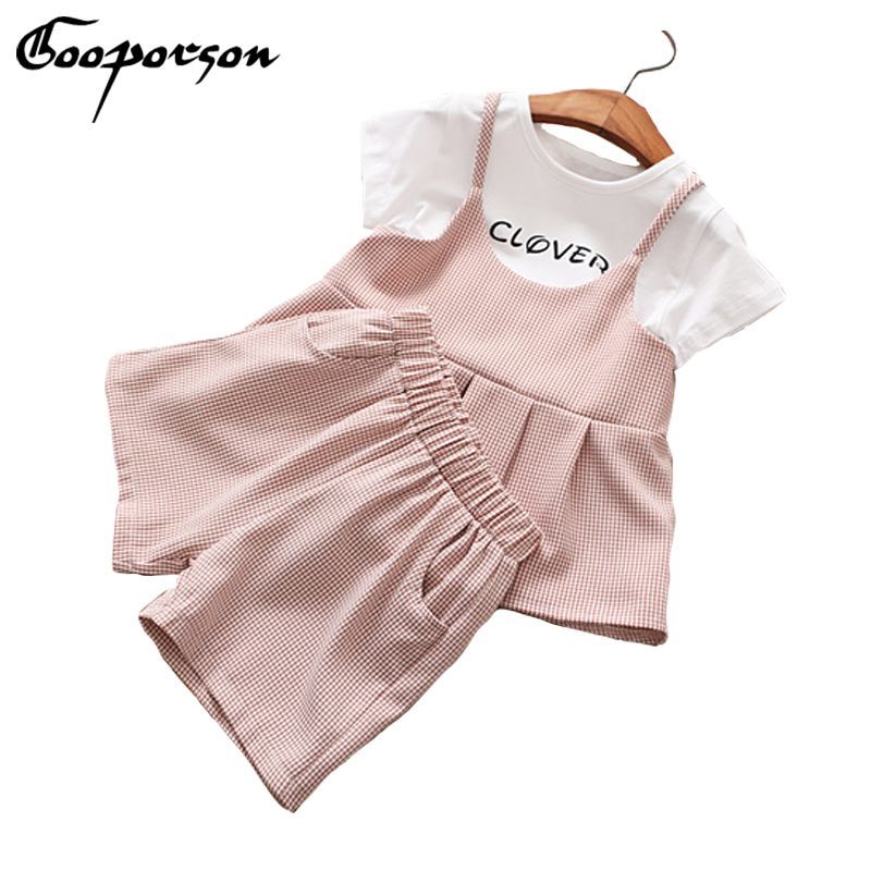 New brand girls summer clothes set short sleeve short and pants 3 pcs clothing suit elegant stylish girl's outfits the lotus flower dream dew [] new spring and summer clothes in the morning suit sleeve sleeved taiji new special offer