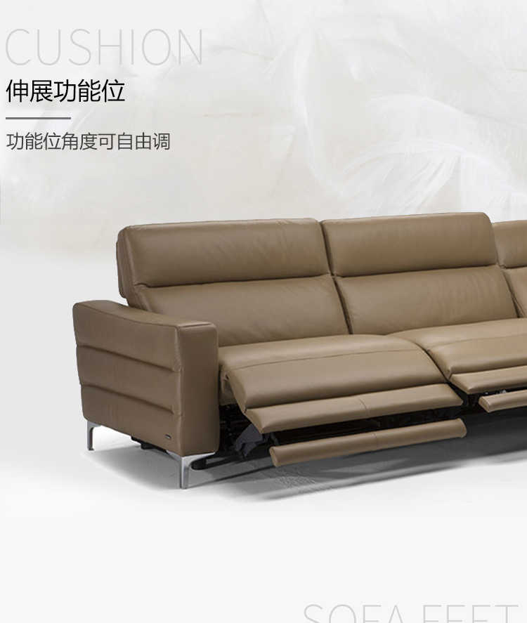 Living Room Sofa set 3 seater sofa recliner electrical couch genuine  leather sectional sofas muebles de sala moveis para casa