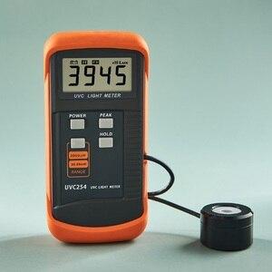 Image 3 - UVC Light Meter Hẹp Phổ nhạc 248nm 262nm Độ Chính Xác Cao Kỹ Thuật Số Bức Xạ TIA CỰC TÍM Cường Độ Detector Tỷ Lệ Độ Phân Giải: 1uW/cm2