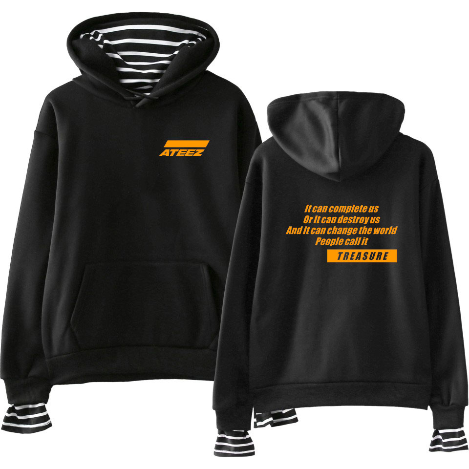 007d0fef1 LUCKYFRIDAYF Hoodies ATEEZ Women Clothes 2019 Hoodies Sweatshirts Youtu Hip  Hop Kpop Casual Harajuku Tops PlusSize