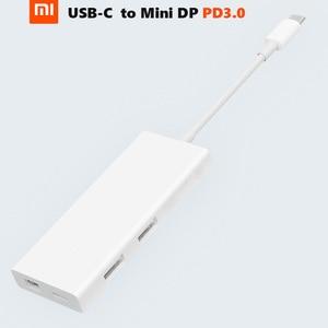 Image 1 - Original Xiaomi USB C to Mini DP Display Port Multi Functional Charger Extender 4K/60Hz PD3.0 65W Max Data Transfer Hub