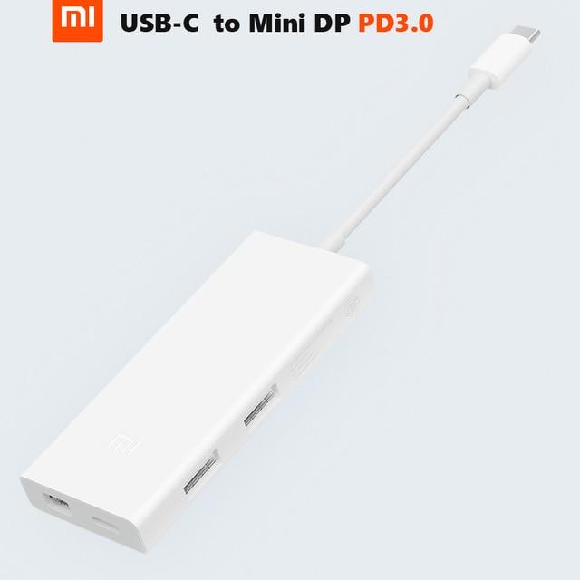 Original Xiaomi USB C to Mini DP Display Port Multi Functional Charger Extender 4K/60Hz PD3.0 65W Max Data Transfer Hub