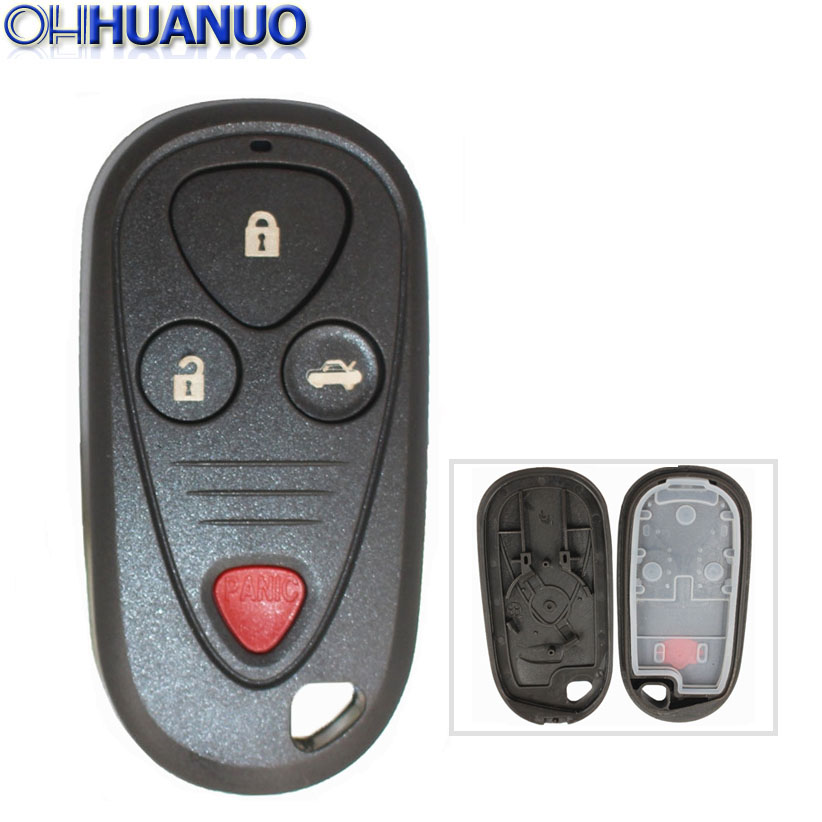 3+1 Buttons Rempte Key Shell For Acura TSX TL RL CL