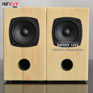 Image 5 - HIFIDIY LIVE 3 inch wood 15W*2 Passive 2.0 speakers HIFI Home/OFFICE desktop stereo audio Computer notebook speaker sound box A3