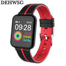 DEHWSG IP67 Waterproof Smart Bracelet IWO 6 Blood Pressure Heart Rate Monitor 1.3″ Wristwatch For Apple iPhone Android phone