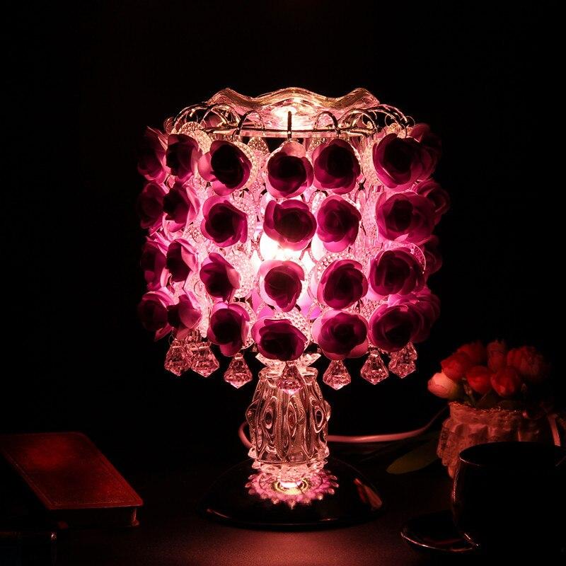AIMIHUO Rose parfum lumière tactile induction lampe à huile, saint valentin cérémonie de mariage et cadeau créatif