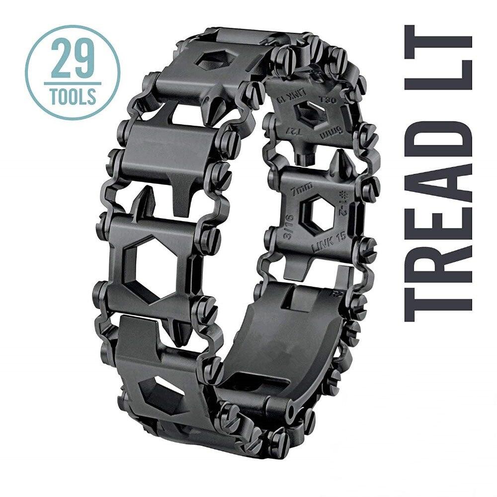 Multifonctionnel bracelet portable outils en acier Inoxydable Bracelet pour hommes et femmes universelle bracelet