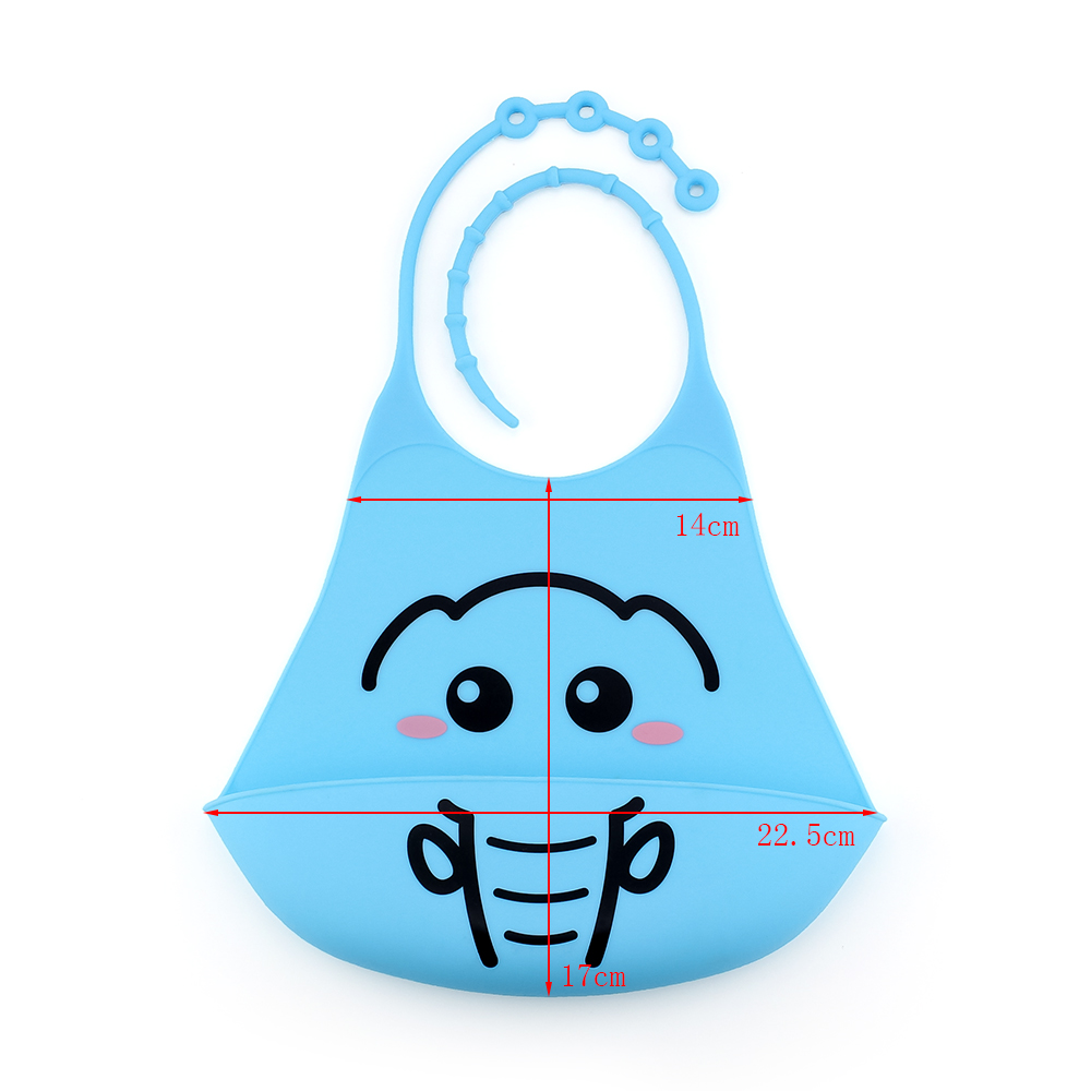 Baby Silicon Bibs Infant Printed Children 39 s Summer Adjustable Waterproof Feeding Tools Boy Girl Apron Adjustable Feeding Bibs in Bibs amp Burp Cloths from Mother amp Kids