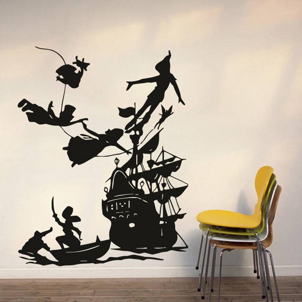 Grande femme africaine Silhouette Wall Art Vinyl Autocollant Décalque Murale Cadeau Anniversaire