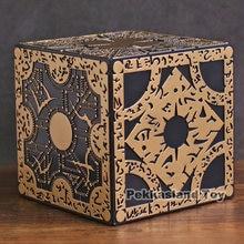 Film de terreur série Hellraiser Configuration de la lamente Puzzle boîte Cube entièrement fonctionnel tête d'épingle accessoire modèle Figure jouet