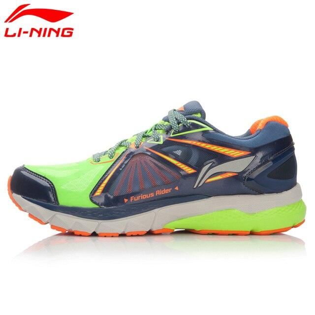 Li-Ning Men's Smart Running Shoes FURIOUS RIDER TUFF OS Stability Sneakers PROBARLOC LiNing Sport Shoes ARHL043 XYP424