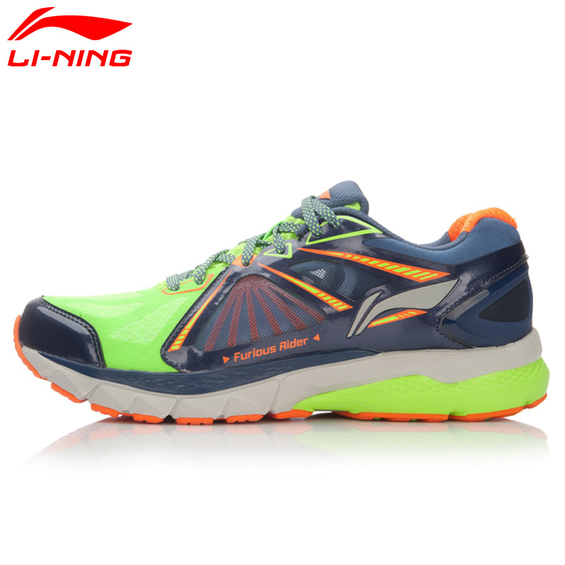 Li-Ning Men's Smart Running Shoes FURIOUS RIDER TUFF OS Stability Sneakers PROBARLOC LiNing Sports Shoes ARHL043 XYP424 original li ning men professional basketball shoes