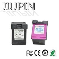 JIUPIN 1set 122XL ink cartridges compatible For HP122 XL For HP Deskjet 1000 1050 1050A 1510 2000 2050 3000 3050 Printer