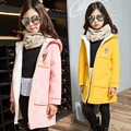 TUTUYU New Girls Coat Children Fashion Outerwear hooded long Christmas deer Kids Autumn winter Jacket Warm Girl Fashion Clothes