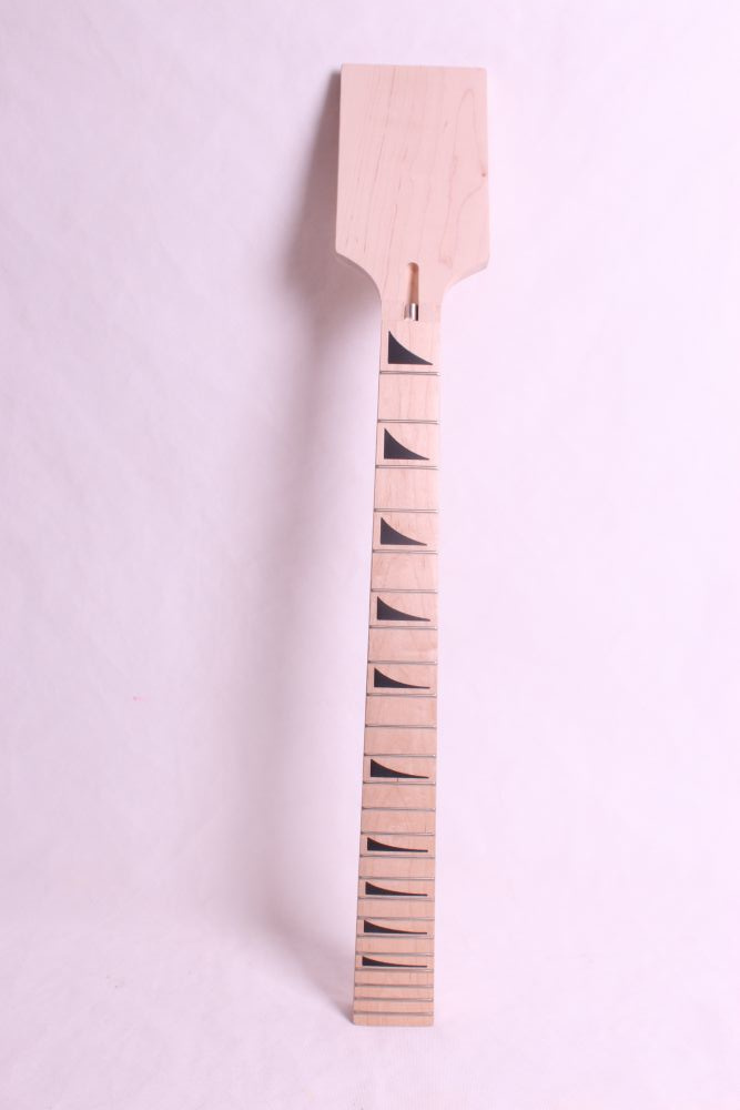 one   unfinished electric guitar neck mahogany   made and maple  fingerboard Bolt on 22 fret diy electric bass guitar kit bolt on solid mahogany body canadian maple neck mx 036