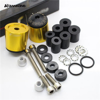 For Yamaha FZ6R FZ8 Grizzly 125 300 4WD 4x4 550 EPS 660 Universal 22 Mm CNC