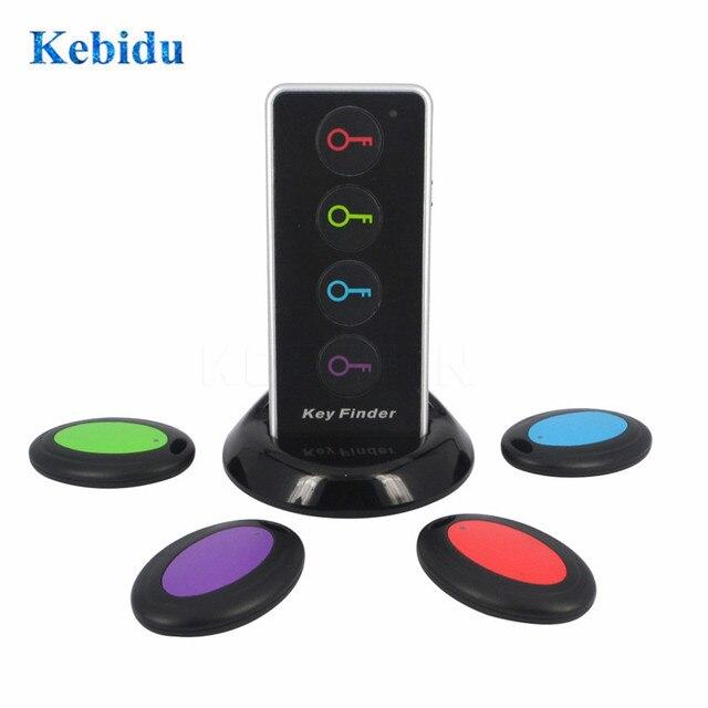 Kebidu 4 في 1 المتقدمة مكتشف المفاتيح اللاسلكي عن بعد مفتاح محدد الهاتف محافظ مكافحة خسر مع وظيفة الشعلة 4 استقبال و 1 قفص الاتهام