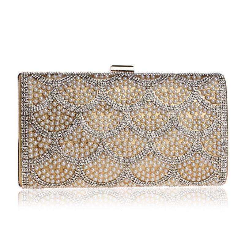 Women's Evening Clutch Bags with Shining Diamonds and Pearls, Elegant Handbag for Dance Bar майка print bar dance with me