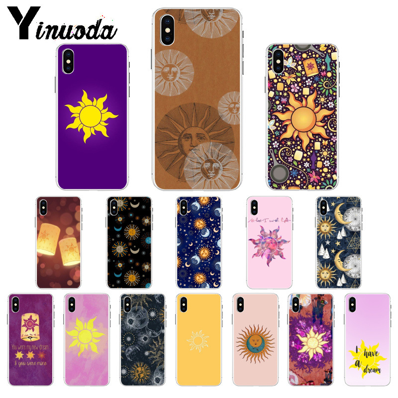 Cellphones & Telecommunications Phone Bags & Cases Yinuoda Tangled Princess Sun Moon Customer High Quality Phone Case For Iphone 5 5sx 6 7 7plus 8 8plus X Xs Max Xr Relieving Rheumatism