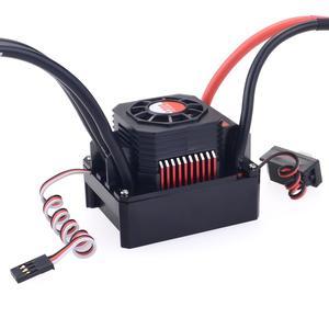 Image 4 - Motor sin escobillas KK impermeable Combo 3670 1100KV 1350KV 1700KV 2050KV 2650KV 2850KV con 120A ESC para coche de control remoto 1/10 1/8