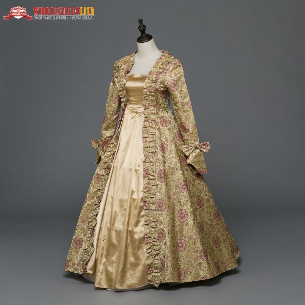 Gothic Period Medieval Dresses Georgian Renaissance Princess Dress ...