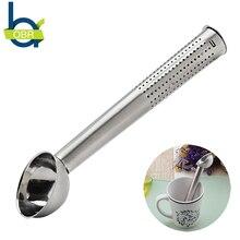 OBR Stainless Steel Tea Colander Spoon Leaf Strainer Infuser with Long Handle