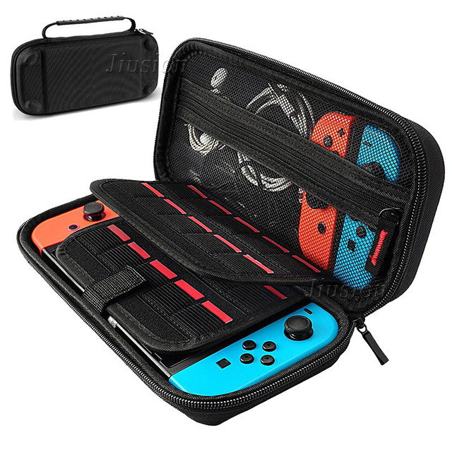 Nylon EVA Hard Shell For Nintend Switch Case Portable Cover Bag Waterproof Funda Switch For Nintendoswitch Console Accessories