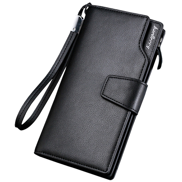 Baellerry Quality PU Wallet Long Men Male Hand bag