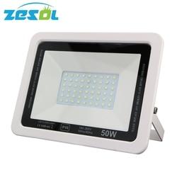 ZESOL 50 w Zewnątrz oświetlenie LED Flood światła Ostrości Projektor Reflektor wodoodporna IP66 Spot light Kinkiet Ogrodowy w Reflektory od Lampy i oświetlenie na