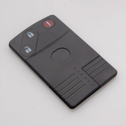 Uncut Keyless Smart Card Remote Key Fob Shell Case Cover for Mazda M5 M6 CX-7 CX-9 RX8