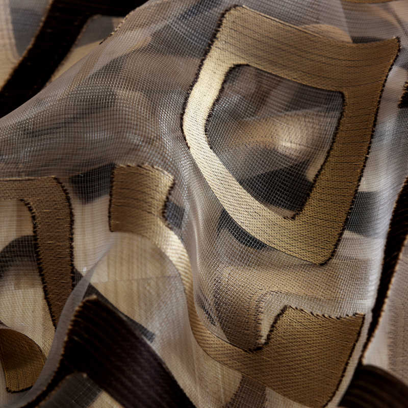 NAPEARL 1 Pedaço de Organza cortinas prontas painéis de cortina sheer tulle praça design simples moderno cortinas sala de estar