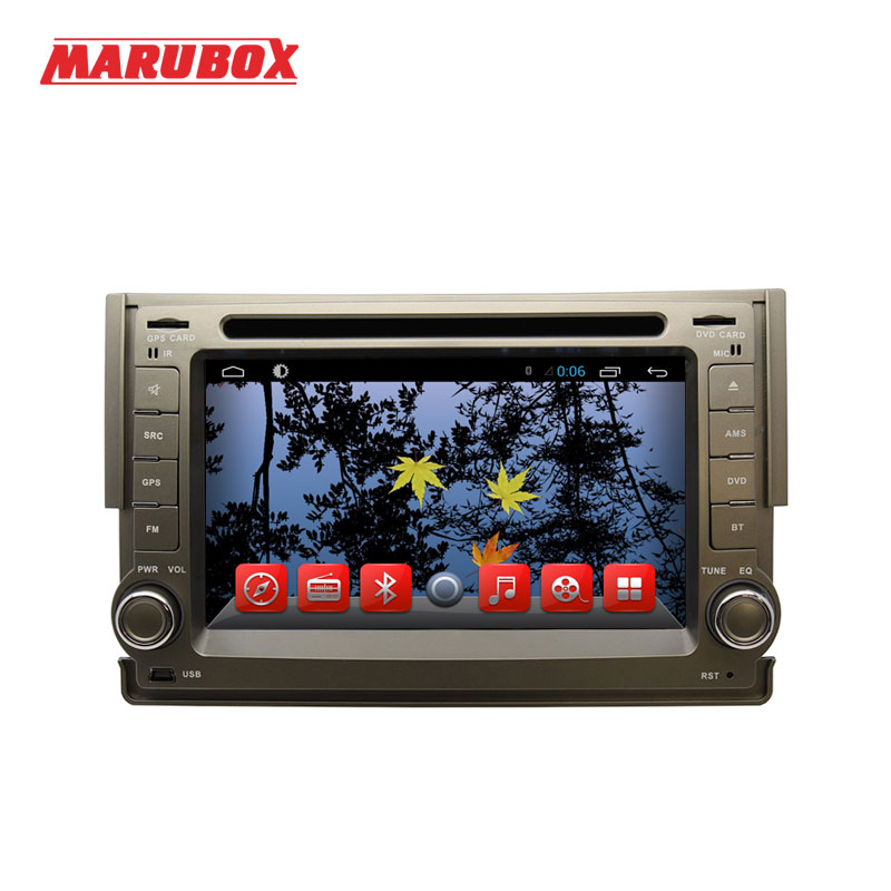 Marubox M6226A Quad Core Android 6.0 Car DVD player GPS Navi for Hyundai H1 Grand Starex 2007 - 2015 1GB RAM 16GB ROM lsqstar st 9079c 7 android car dvd player w 1gb ram 8gb rom gps wi fi for hyundai elantra