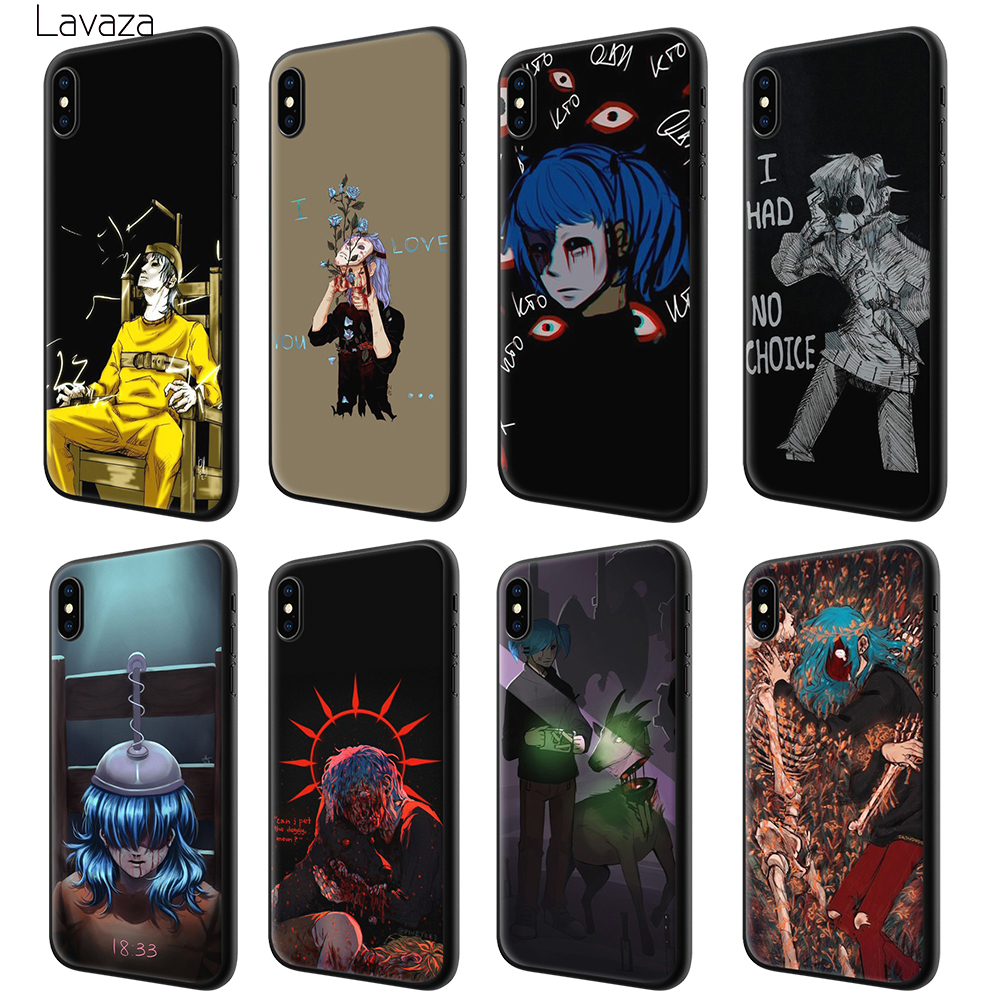Lavaza starry day anime Soft Case for Apple iPhone 6 6S 7 8 Plus 5 5S SE X XS MAX XR TPU Cover in Fitted Cases from Cellphones Telecommunications