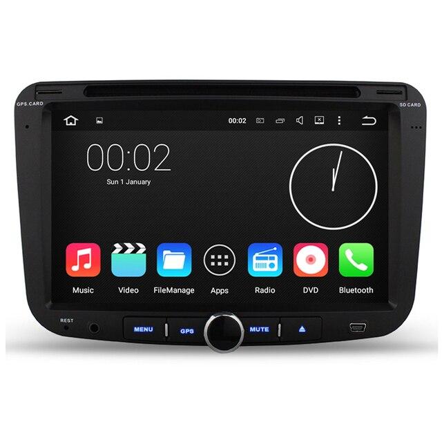 1024*600 Четырехъядерных Процессоров 1.6 Г CPU Android 5.1.1 16 ГБ Flash Автомобиля Dvd-плеер Для Geely Emgrand EC7 Радио Gps-навигации Stereo BT