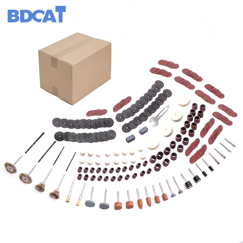 BDCAT 272 pcs/set for Dremel Rotary Tool Accessory Set Fits for Dremel Drill Grinding Polishing Dremel Accessories
