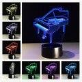 3d Luz lâmpada LED atmosfera colorida visão remota câmera entretenimento 3D estéreo personalizado lâmpada acrílico lâmpada