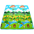 Baby Crawling Play Mat 2*1.8 m Climb Pad Double-Site Forest +Botanical Garden Baby Toys Playmat Kids Carpet Baby Game Child Mat