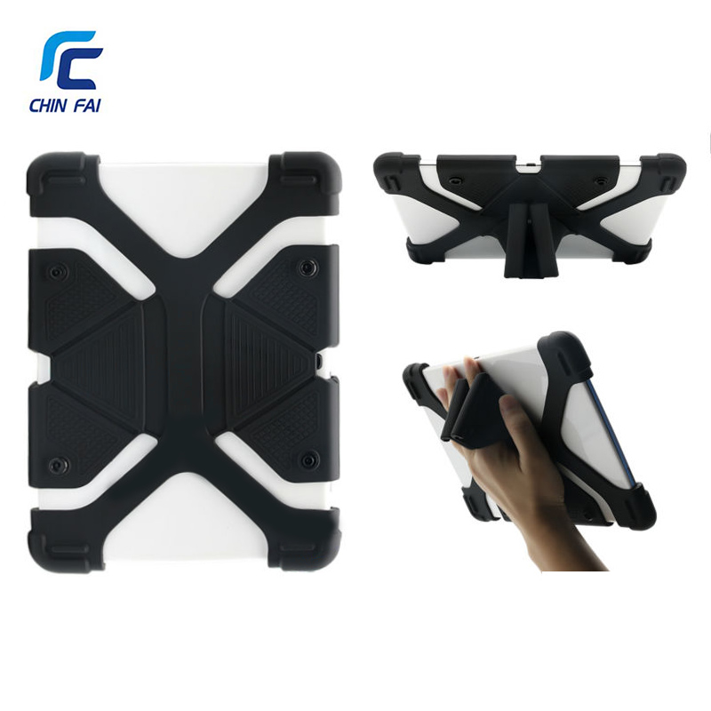 5 Pcs Universal Silicon Case For 10 Inch Tablet Cover for iPad Pro Air Samsung Huawei Kindle Shockproof Soft Case with Stand