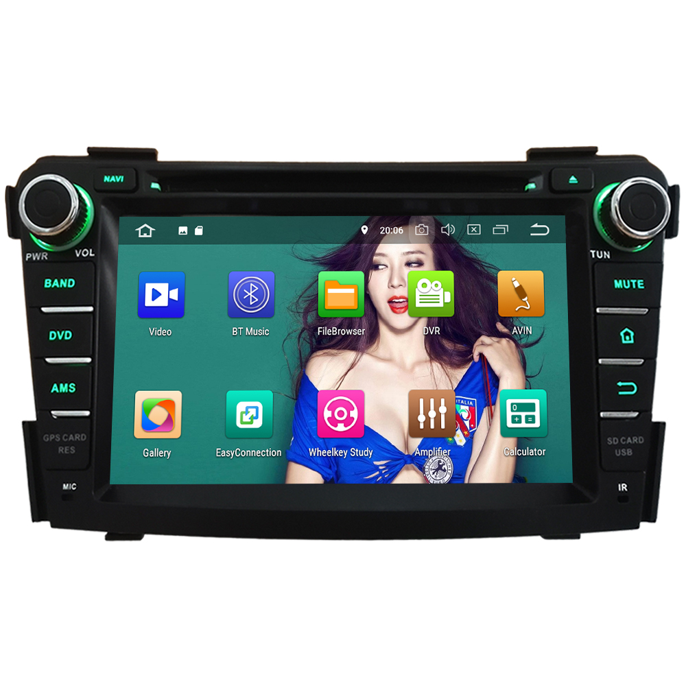 KLYDE HD 7 4G WIFI Android 8.0 Octa Core 4GB RAM+32GB ROM PX5 BT Car DVD Multimedia Player Radio For Hyundai I40 2011-2016