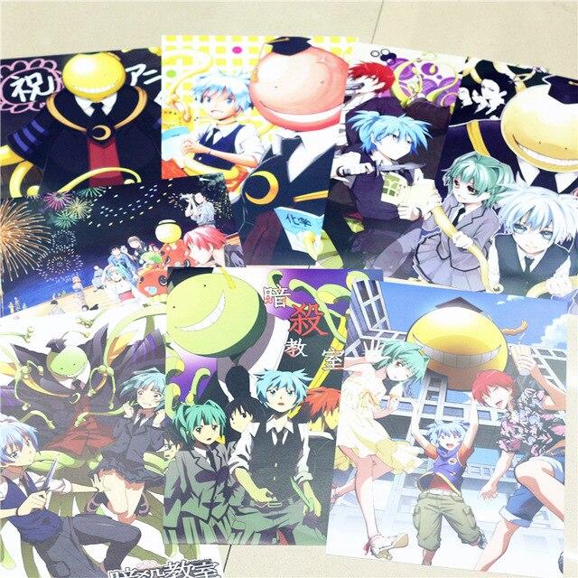 Pcs X Cm Nouveau Assassinat Classe A Affiches Peinture Mur