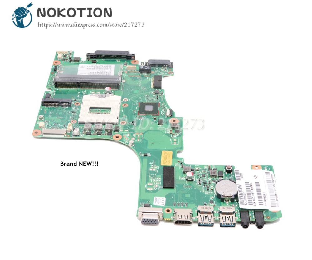 NOKOTION Brand New V000318010 For Toshiba satellite L50-A L55-A L50T-A L55T-A Laptop Motherboard CR10S-6050A2555901-MB-A02NOKOTION Brand New V000318010 For Toshiba satellite L50-A L55-A L50T-A L55T-A Laptop Motherboard CR10S-6050A2555901-MB-A02