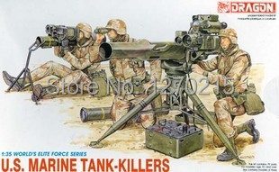 Dragon Model Kit - US Marine Tank Killers Soldiers - 1:35 Scale - 3012 - New