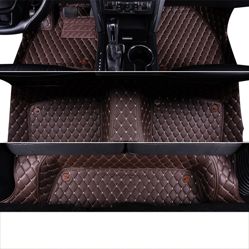 Black Coverking Custom Fit Front Floor Mats for Select Plymouth Voyager Models Nylon Carpet