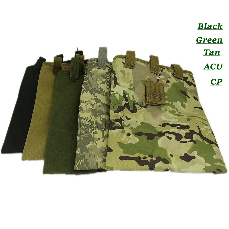 Tactical Molle Dump Bag Hunting Drop Magazine Pouch Drop Utility Pouch Belt Bag pollutants spread around gweru dump site