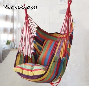 Leisure College Student Dormitory Chair Outdoor Hammock Single Double Hammock Dormitory Safety Chair For Men And Women LFB108