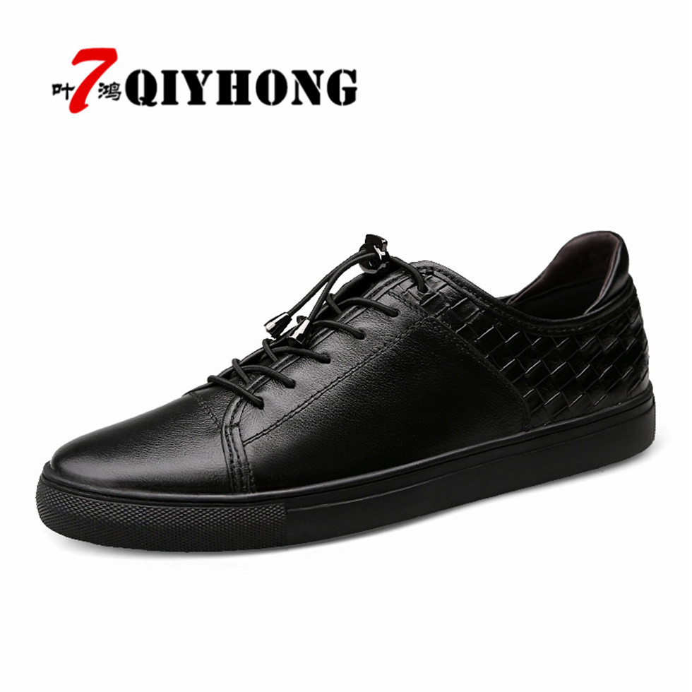 Brand QIYHONG New Style Retro Style Men Shoes, High Quality Men Casual Shoes, Lace Up Casual Shoes Men Sapatos Masculinos 2017 spring brand new fashion pu stretch fabric men casual shoes high quality men casual shoes lace up casual shoes men 1709