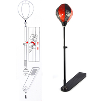 Kids Full Boxing Punching Set With Punching Bag Gloves And Adjustable 130cm High Boxing Stand